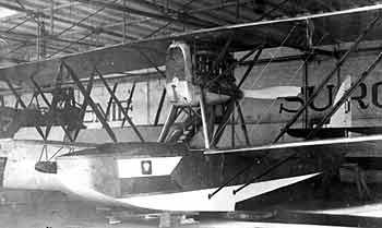 Nieuport Macchi M-9 nr 23 wyremontowany w CZL na terenie BLM w Pucku
