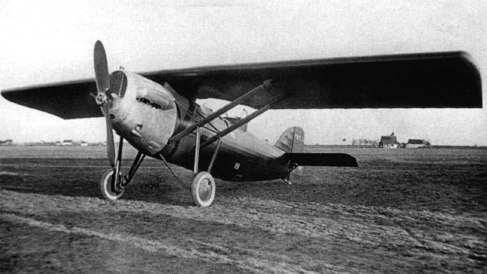 Prototyp samolotu myśliwskiego PWS-1