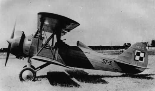 PWS-14 o numerze 57-3, oznaczony jeszcze jako PWS-12