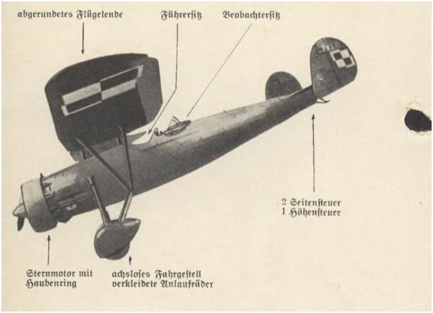 Niemcy do1939 roku uważali ze PWS-19 pozostaje na uzbrojeniu lotnictwa polskiego