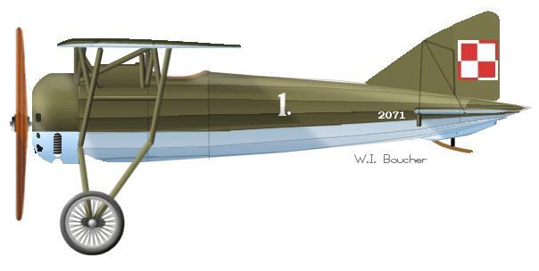 Morane  Saulnier MS-30E1 w polskich barwach