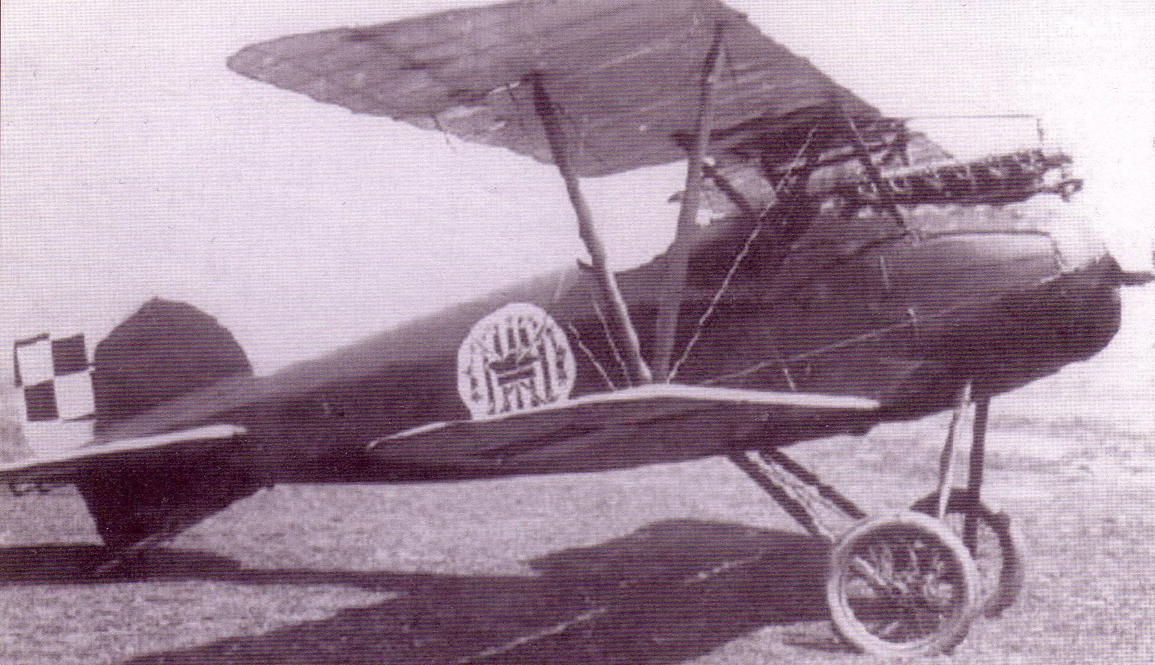 Oeffag D.III z 7.Eskadry Myśliwskiej