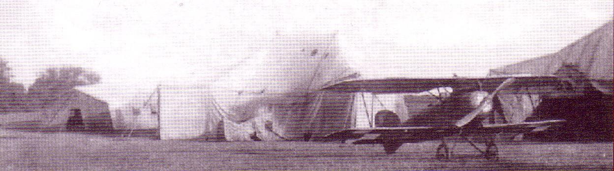 Oeffag D.IIIz 13.Eskadry myśliwskiej z lotnisku polowym