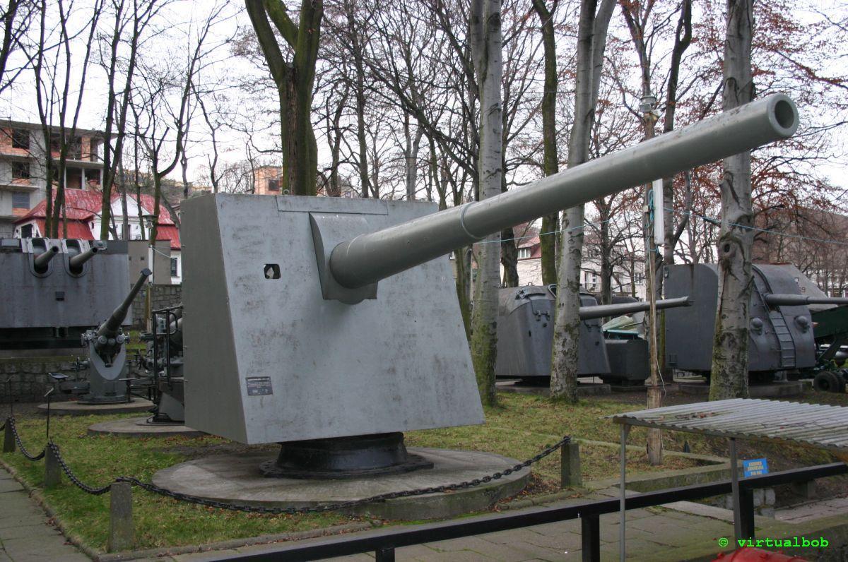Eksponat Muzeum Marynarki Wojennej w Gdyni