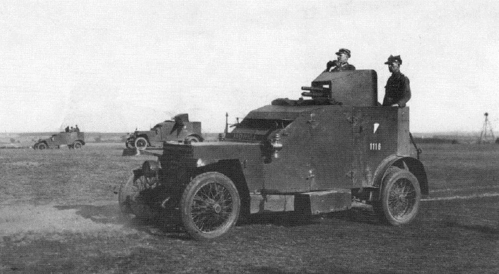 Samochód pancerny Peugeot