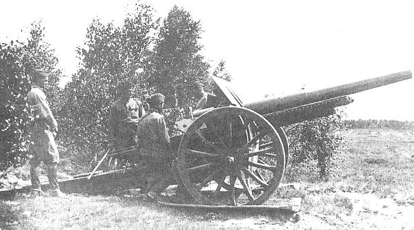 Armata 120 mm wz.13 z 9 pac