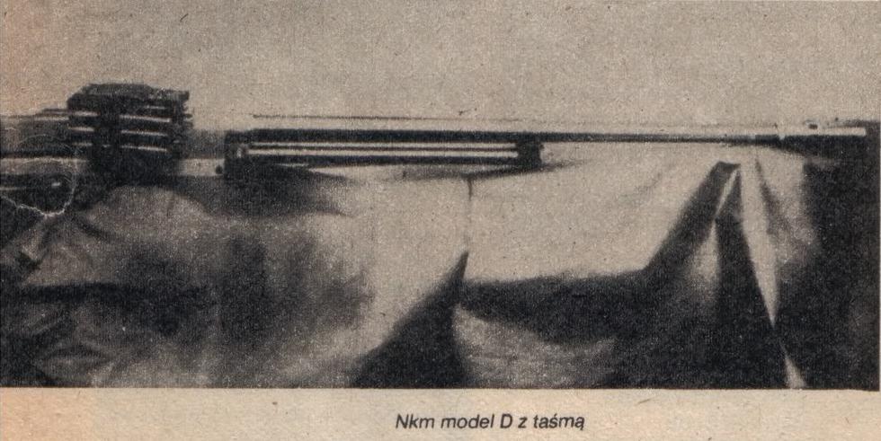 NKm model D z taśmą