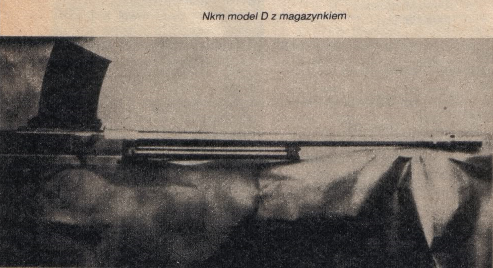 Nkm model D z magazynkiem
