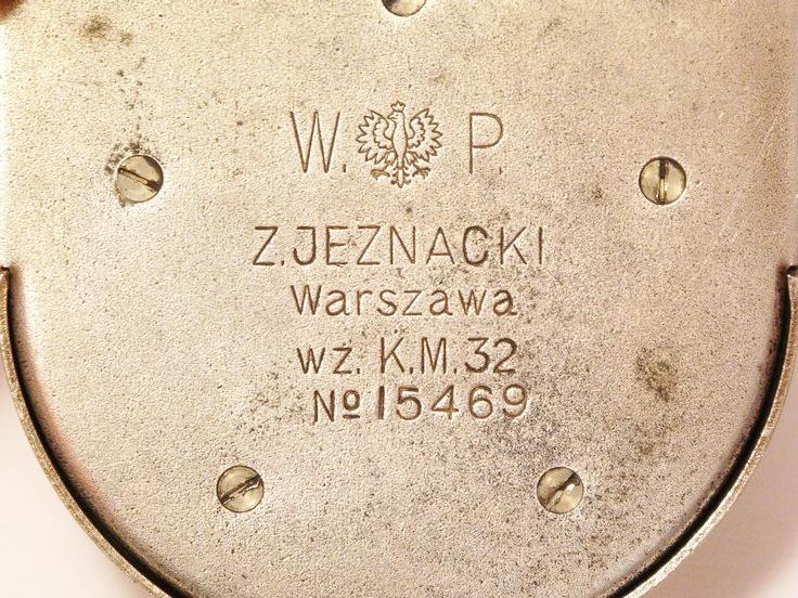 Busola kierunkowa K.M. wz.32, producent Z.Jeznacki (Warszawa)