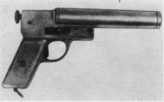 26 mm pistolety sygnałowy produkcji Warsztatów Broni DOG we Lwowie wz.1920