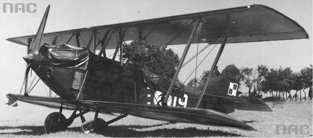 Samolot ekipy polskiej Lublin R-VIII