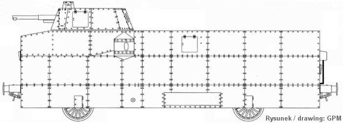Rysunek wagonu elektrospalinowego [źródło: Kartonówka nr 1(5)/2002]