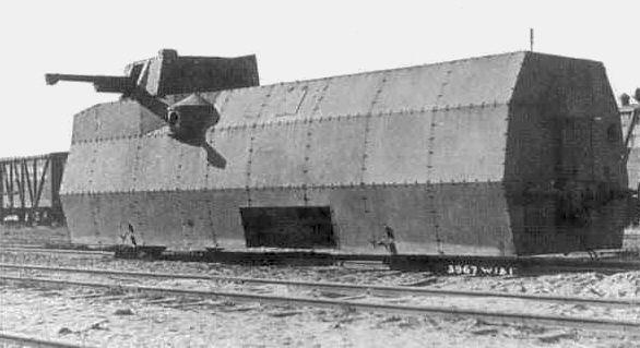 """Wagon pancerny elektrospalinowy """"wz.28"""" - zdjęcie ze zbiorów PIBWL"""