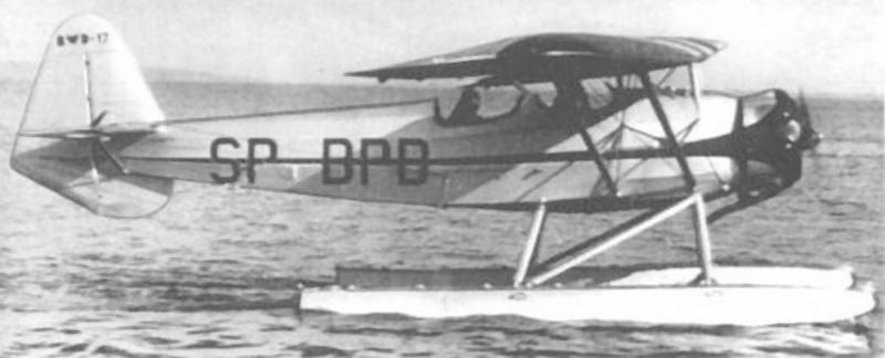 Wodnosamolot szkolno-akrobacyjny RWD-17W