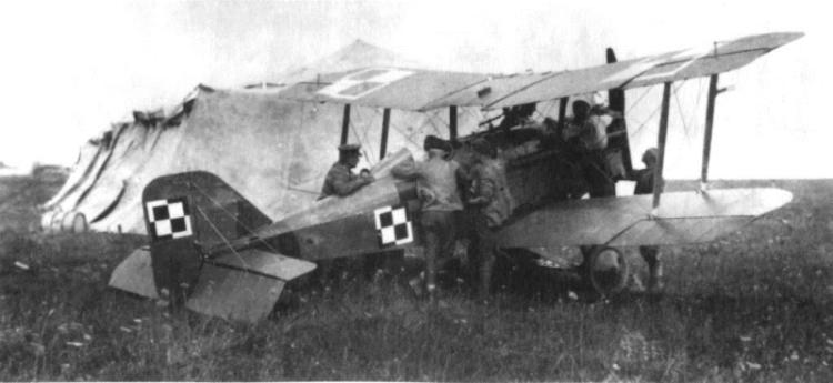 Samolot SE-5a kapitana Stefana Ciecierskiego