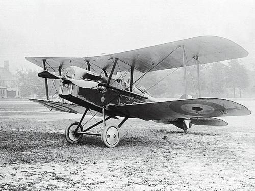 Myśliwiec SE-5a w służbie brytyjskiej