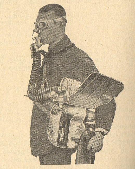 Automatyczno-płucny aparat Drager'a H.S.S. model 1924r.