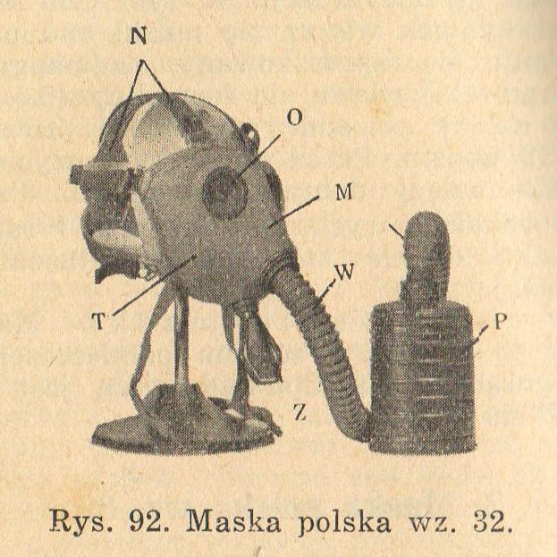Maska polska wzór 32