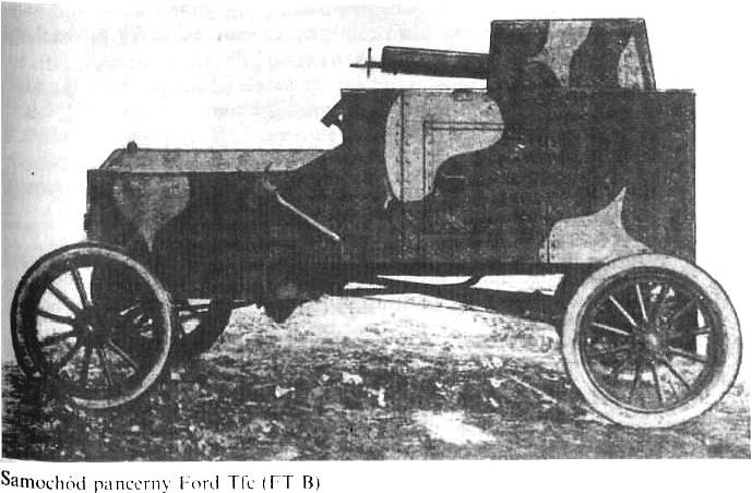 """Samochód pancerny Ford """"Tfc"""""""