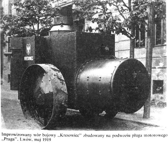 """Improwizowany wóz bojowy """"Kresowiec"""""""