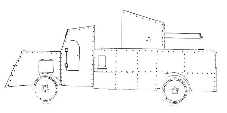 Samochód pancerny Packard