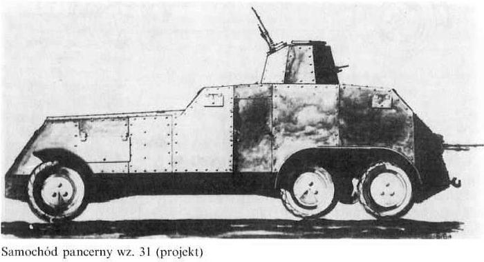 Samochód pancerny wz.31 (projekt)